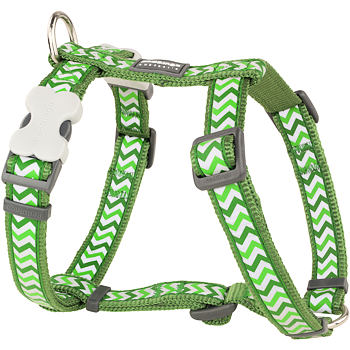 Dog Harness 15 mm x 36-54 cm – Refl. Ziggy Green
