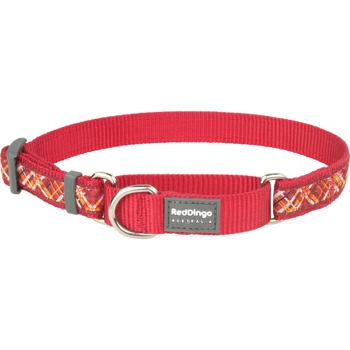 Martingale Collar 15 mm – Flanno Red