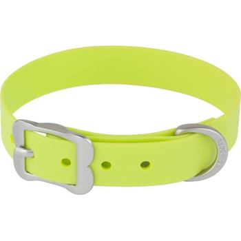Dog Collar Vivid 25 mm x 40-50 cm - Lime