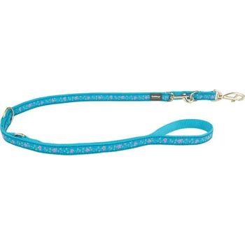 Multi Dog Lead 25 mm x 2 m - Butterfly Turquoise