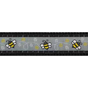 Multi Dog Lead 20 mm x 2 m - Bumble Bee Black