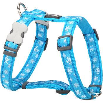 Dog Harness 25 mm x 56-80 cm - Snowflake