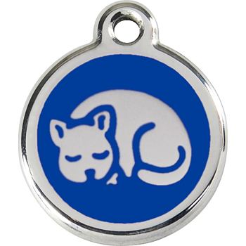Pet ID Tag - Kitten Navy