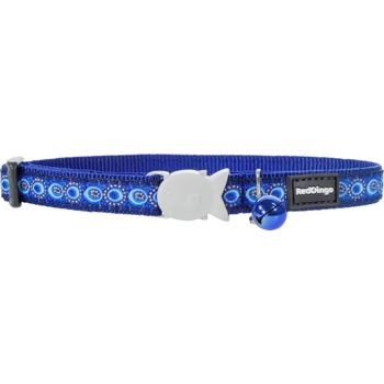 Cat Collar 12 mm x 20-32 cm – Cosmos Blue