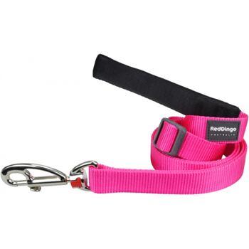 Dog Lead 12 mm x 1,8 m – Hot Pink