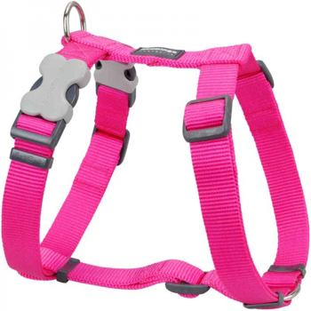 Dog Harness 25 mm x 71-113 cm – Hot Pink