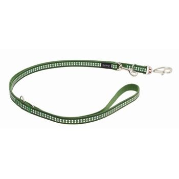 Multi Dog Lead 20 mm x 2 m – Refl. Bones Green