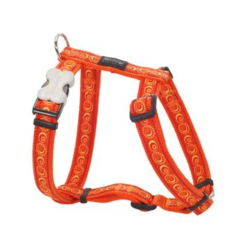 Dog Harness 25 mm x 71-113 cm - Cosmos Orange