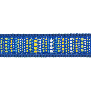 Multi Dog Lead 25 mm x 2 m - Lotzadotz Blue