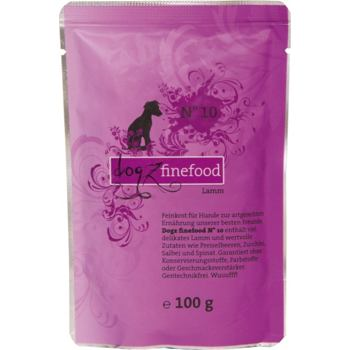 Dogz Finefood No.10 – Lamb 100 g