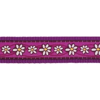 Dog Harness 25 mm x 71-113 cm - Daisy Chain Purple