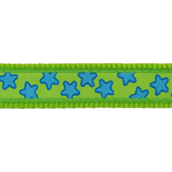 Multipurpose Dog Lead 12 mm x 2 m- Stars Turquoise