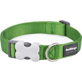 Dog Collar 15 mm x 24-37 cm – Green