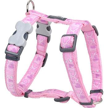Dog Harness 20 mm x 45-66 cm - Breezy Love Pink
