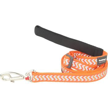 Dog Lead 25 mm x 1,8 m – Reflective Ziggy Orange