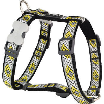 Dog Harness 25 mm x 71-113 cm - Monty Black