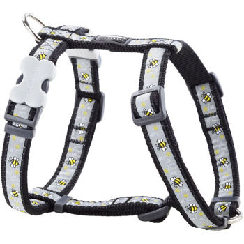 Dog Harness 25 mm x 56-80 cm - Bumble Bee Black