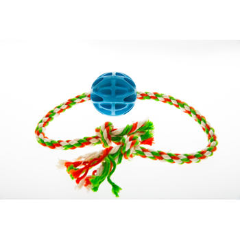 Baxter Rope with ball 7,2 cm - blue