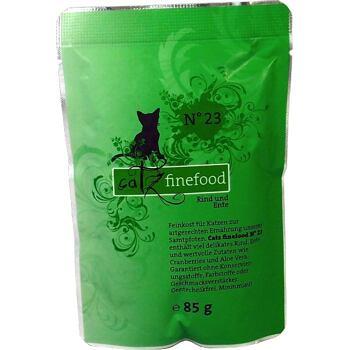 Catz Finefood No.23 – Beef and duck 85 g