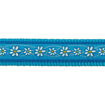 Dog Lead 12 mm x 1,8 m - Daisy Chain Turquoise