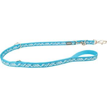 Multi Dog Lead 15 mm x 2 m - Flanno Turquoise