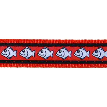 Cat Collar 12 mm x 20-32 cm – Reflect. Fish Orange