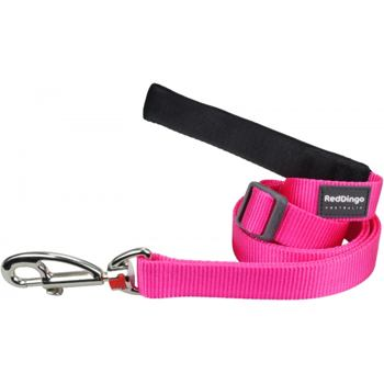 Dog Lead 25 mm x 1,8 m – Hot Pink