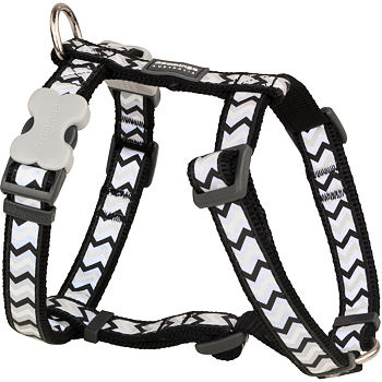 Dog Harness 15 mm x 36-54 cm – Refl. Ziggy Black