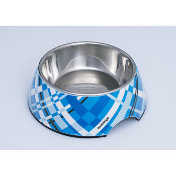 Red Dingo Pet Bowl 700 ml - Flanno Turquoise