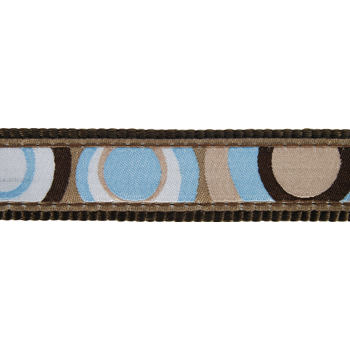 Martingale Dog Collar 25 mm - Circadelic Brown