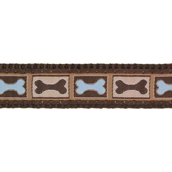 Martingale Dog Collar 25 mm - Bone Yard