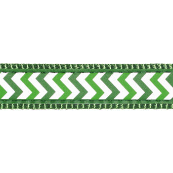 Dog Lead 15 mm x 1,8 m – Reflective Ziggy Green